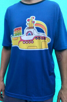 Remera Submarino Amarillo azul
