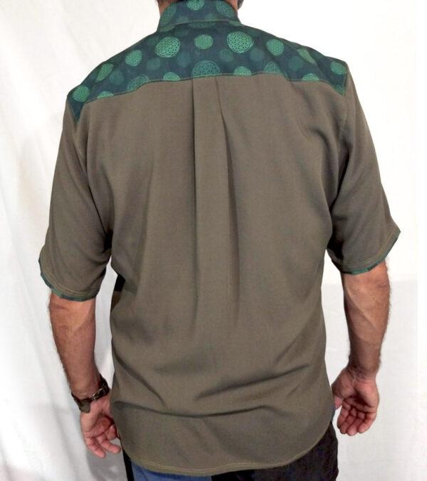Camisa Vayu. Flor de la Vie