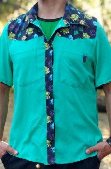 Camisa Merkaba Vayu